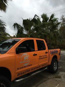 911 Restoration Emergency Response Truck
