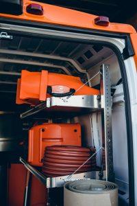 911Restoration-inside-of-truck-St charles